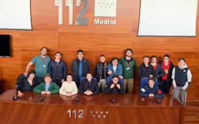 De visita en el 112