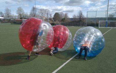 Pádel y Bubble Soccer en Meco