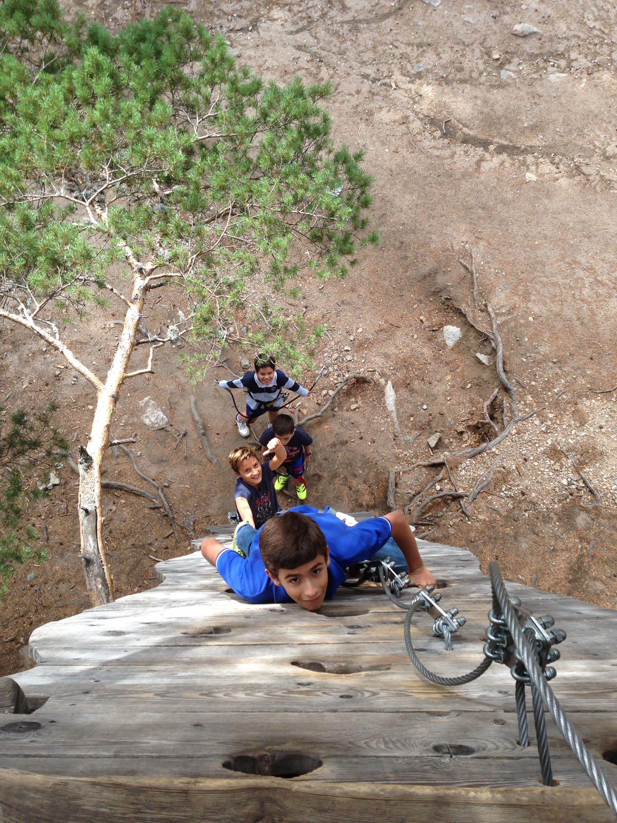 Una aventura en las alturas
