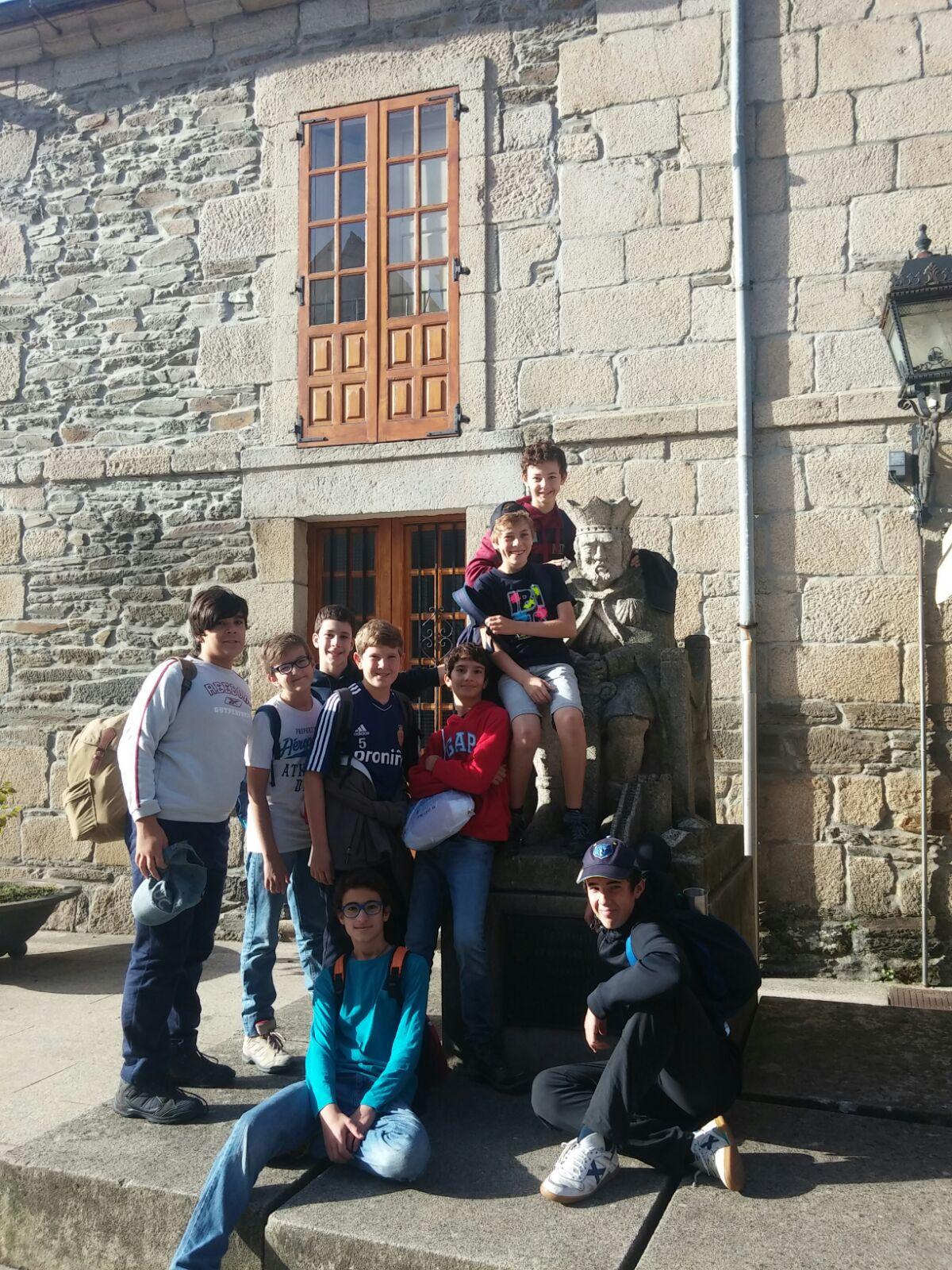 Primera jornada del Camino de Santiago