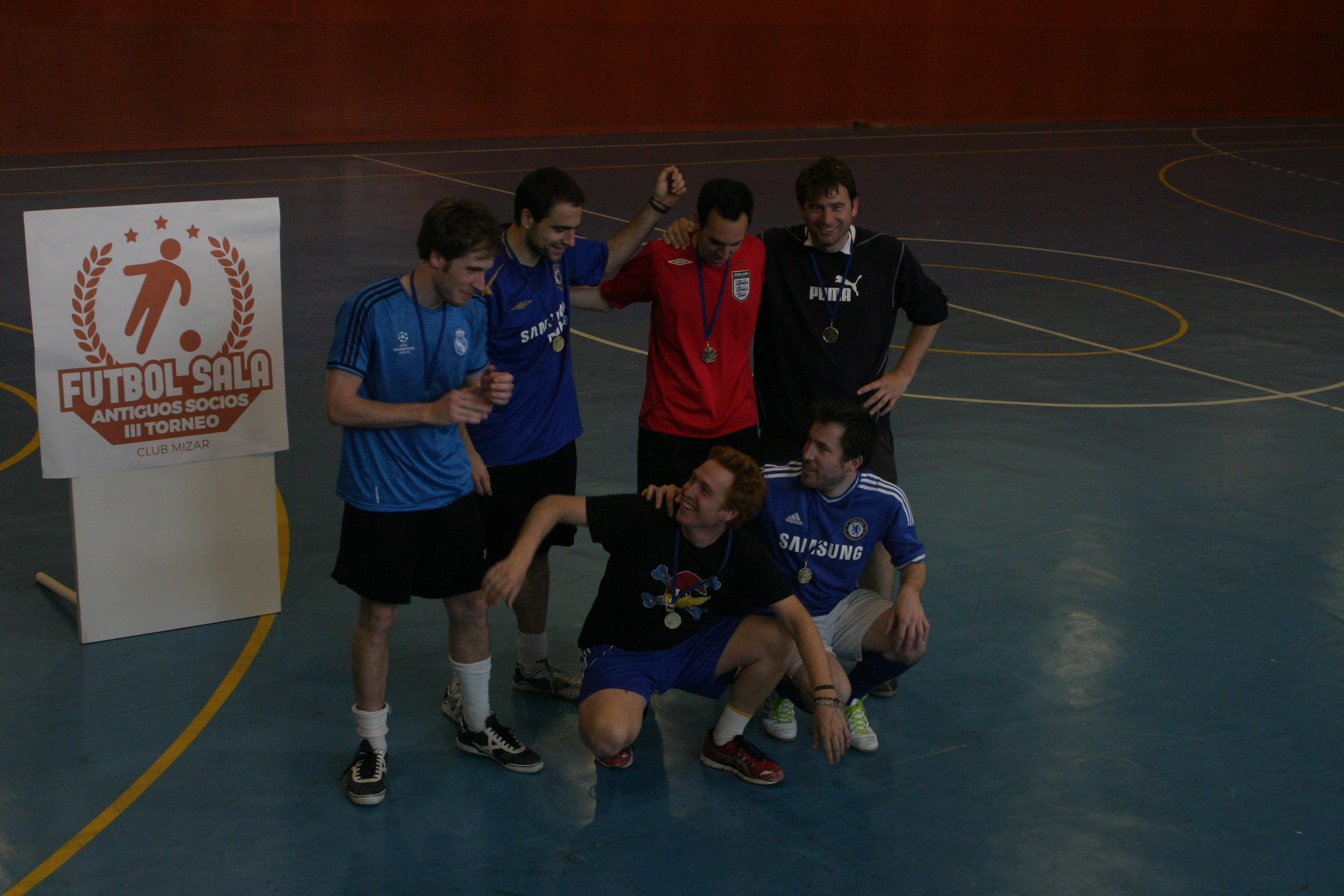 Consejo de Ministros, vencedor del III Torneo de Fútbol Sala de Antiguos Socios