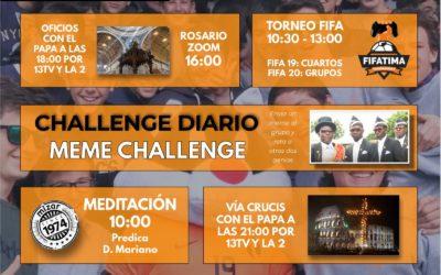 MIF online 2020 Viernes Santo